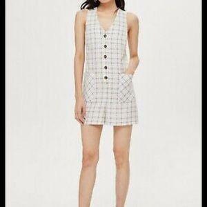 Topshop Menswear Short Romper Size 10